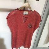 Яркая, эффектная футболка блуза брендовая Турция RAW Рав