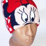 Демисезонная шапка Disney Минни Маус 3-6 лет