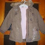 Куртка зимняя NEXT на 12-18мес, рост 80-86см