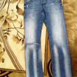 Мужские джинсы от H&M. Размер w 34 l 34. Фасон слим, низкая посадка. Замеры пот 45 см, поб 50 см, д