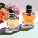 Armani Stronger With You и Because It's You 100 мл тестер