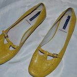 Туфли балетки marc кожа розмір 40, туфлі шкіра
