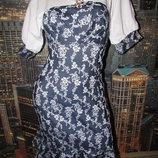Платье летнее с воланами