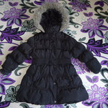 Зимняя курточка пальто на девочку 3-4года