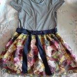 Красивое платье на девочку 9-10 лет