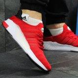 Кроссовки мужские сетка Adidas Climacool red