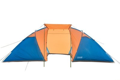 Палатка шестиместная Coleman 1002 подарок