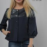 Оригинальный молодёжный пиджак свободного кроя 44-48р