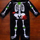 костюм скелет 9-12 мес TU