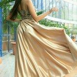 Платье Ткань дорогое турецкое кружево атлас