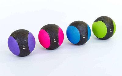 Мяч медицинский медбол 2660-1 диаметр 19,5см, вес 1кг