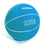 Мяч медицинский медбол 8407-2 диаметр 13см, вес 2кг