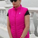 Женская жилетка NIKE CASCADE SPORTSWEAR VEST 7 цветов жилет,безрукавка