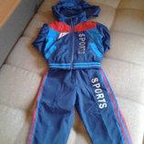 Продам спортивный костюм плащевка 92 р