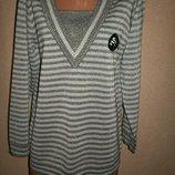 Тонкий свитер с люрексом Damart р-р14-16