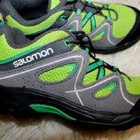 32 разм. Фирменные кроссовки Salomon.Замша. состояние новых Длина по внутренней стельке - 20,5 см. з