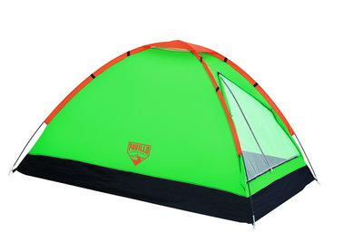 Палатка Monodome салатовая с чехлом 2-х местная 2258