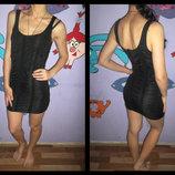 Короткое секси платье