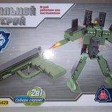 Конструктор 2в1 Пистолет-Робот