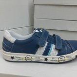 Кожаные кроссовки, кеды для мальчика Krokky