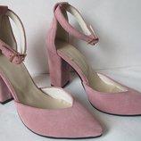 Mante Красивейшие кожаные женские босоножки на каблуке 10 см весна лето осень модный и нежный цвет