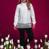 Блуза Джордани для девочки Тм Сьюзи р.122-140