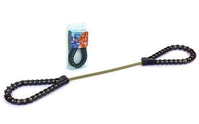 Эспандер трубчатый с ручками LT-103 длина 120см, ручки пластик