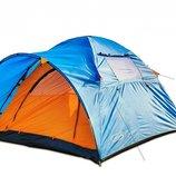 Палатка трехместная туристическая палатка Сoleman 1014 Польша