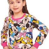 Яркий и симпатичный свитшот для девочек 110-122р