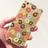 Пластиковый чехол «Пончики» iPhone 6