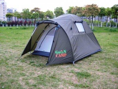 Палатка туристическая двухместная Green Camp 3006