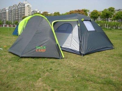 Палатка туристическая четырехместная Green Camp 1009
