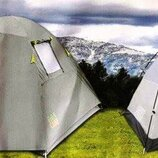 Палатка туристическая четырехместная Green Camp 1013-4