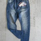 летние тонкие мужские джинсы