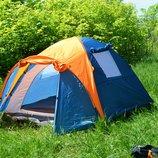 Палатка трехместная туристическая палатка Сoleman 1011 Польша