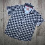 Нарядная стильная рубашка шведка Next 4 года, рост 104 см.