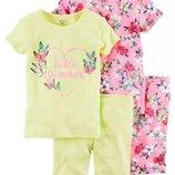 Пижамки Картерс весна-лето размер 4т