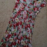 Top secret стильное котоновое платье в цветочный принт