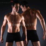 Плавки универсальные мужские купальные, трусы-боксеры для бассейна, пляжа черный код MS004
