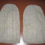 Перчатки брезентовые и войлочные
