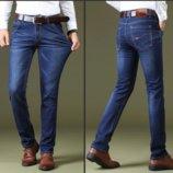 Стрейчевые джинсы мужские качество размеры 31-34 код 813