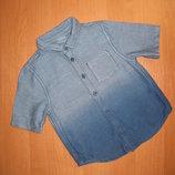 Рубашка F&F размер 18-24 мес. Рост 92 см.