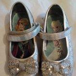 Туфельки для девочки George Frozen размер 7-24,стелька 15см