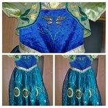 Карнавальное платье Анна из холодного сердца.