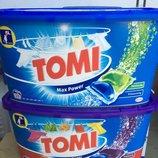 Tomi max power - капсулы для стирки, 45 шт.