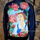 Одежда ручная роспись под заказ любой рисунок