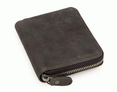 Акция ̶6̶1̶0̶ 549 грн Мужской кошелек кожаный портмоне 8083R серый натуральная кожа