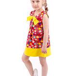 Платье для девочек рост 98-122