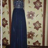 Коктельное Выпускное вечернее нарядное платье 42-44-46.