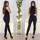 Женские стильные высокие брюки стрейч 2180 Джинс Корсет Пуговицы .